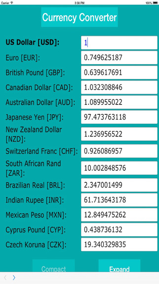 Currency Calculator Easy