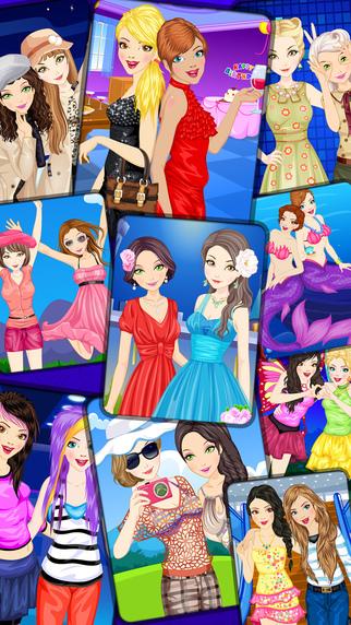 Best Friends BFF Dress Up For Girls - 10 Games
