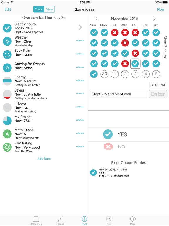 Habits Pro - Habits of Health Screenshots