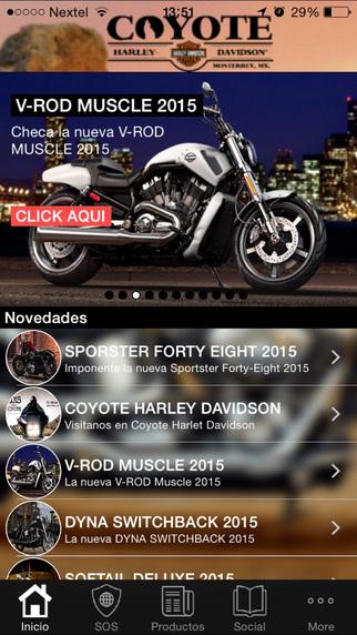 Coyote Harley Davidson
