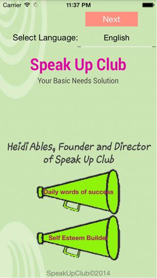 Speak Up Club - SUC Your Basic needs Solution