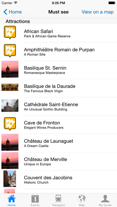 Toulouse Travel Guide Offline iPhone Screenshot 4