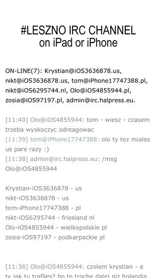LesznoChat