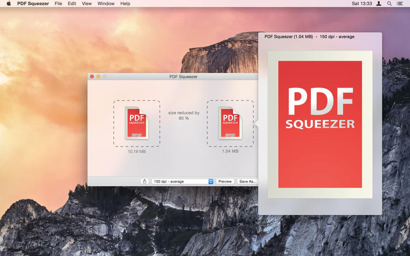 PDF Squeezer Screenshots