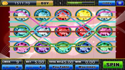 Screenshot 4 AAA Хит спина и сокрушить Сумасшедшие Jewel Blitz слоты удачи-й джекпот Pro