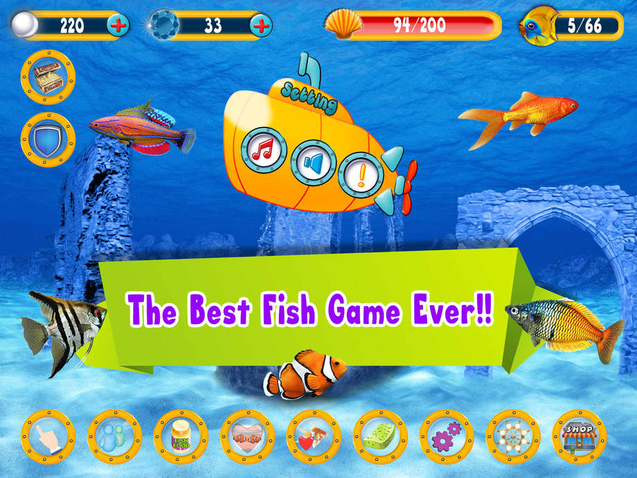 Fish life ios store store top apps app annie for Best fishing game app