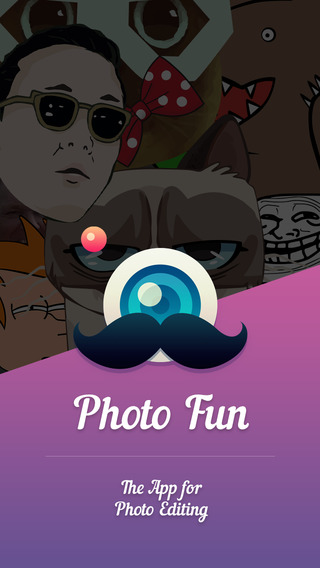 Photo fun - funny stickers masks effects memes and frames for your photos