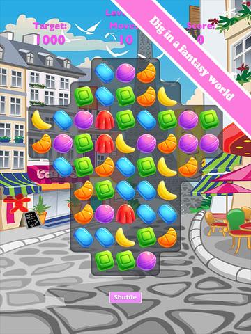 玩免費遊戲APP|下載Sweet Candy Jam Digger app不用錢|硬是要APP