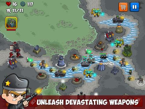 Combat TD для iPad