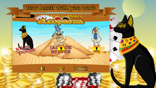 Video Poker HD - Mummies Revenge
