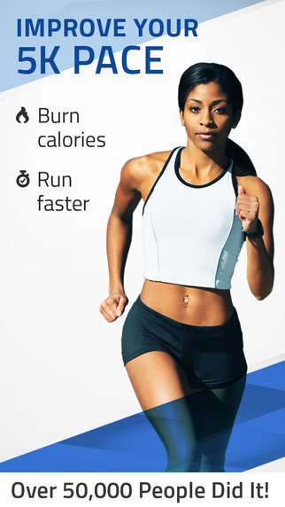 5K Pacer: Run faster pace training.