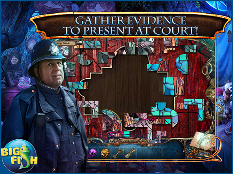 iPad Image of Grim Tales: The Vengeance HD - A Hidden Objects Detective Thriller