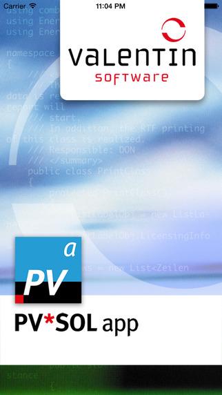 PVSOL app