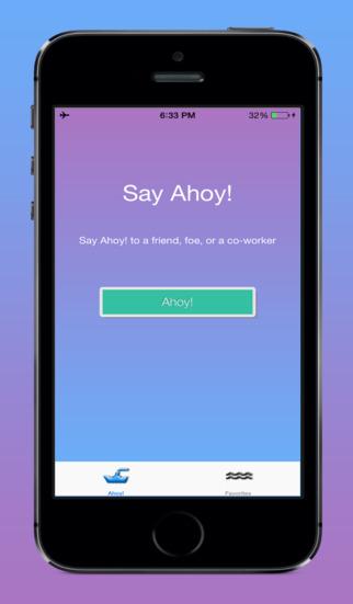 Ahoy SMS