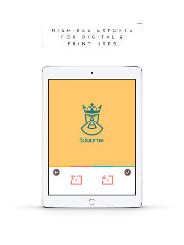 Screenshots of LogoScopic Studio – Logo Maker. for iPad