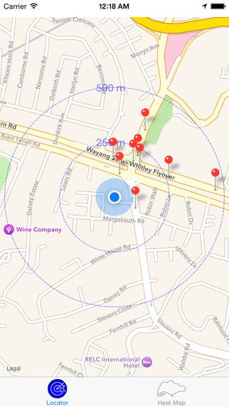 Taxi Locator Singapore