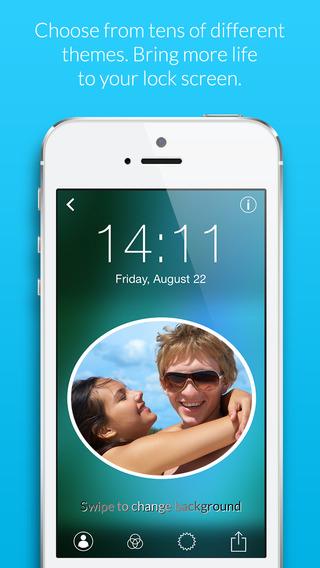 Selfie Lock Screen