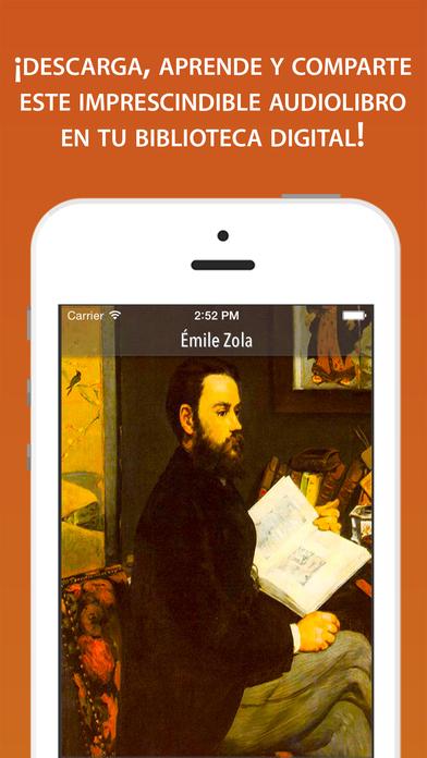 Emile Zola iPhone Screenshot 1