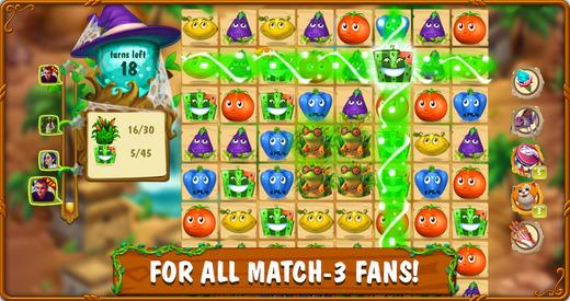 Magic Kitchen: match - 3 puzzle game