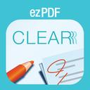 ezPDF CLEAR: Digital Textbook & Workbook mobile app icon