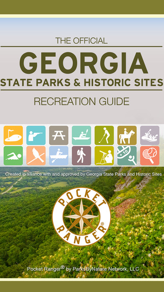 Georgia State Parks Historic Sites Guide- Pocket Ranger®