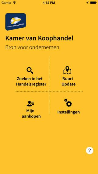 KvK App Handelsregister