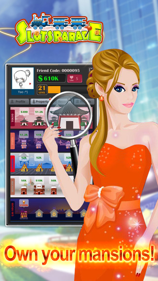Slots Parade - Slot Machines with Monopoly Game
