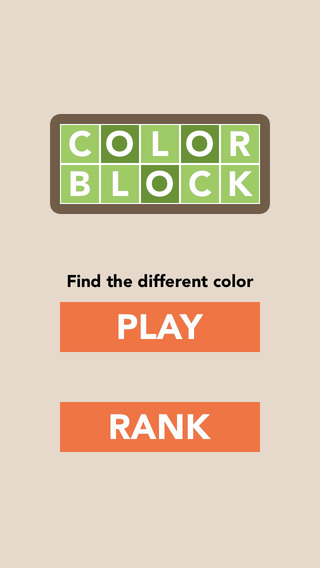 Color Block - Find the different color