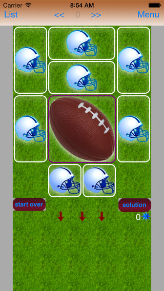 Football Puzzle phone