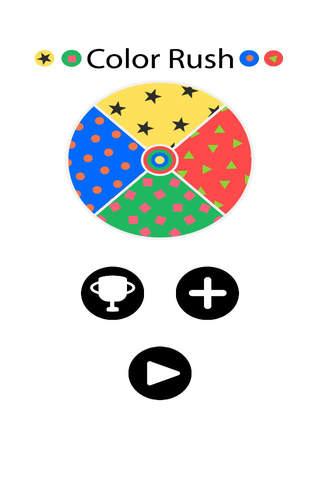 Color Rush Imposible Game screenshot 1