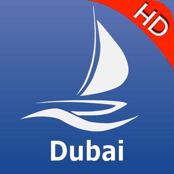 交通運輸App|Dubai GPS Nautical charts pro LOGO-3C達人阿輝的APP