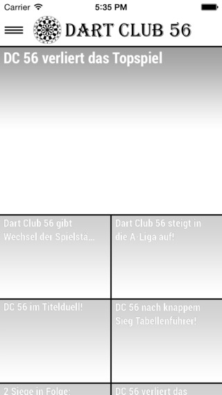 Dart Club 56 App