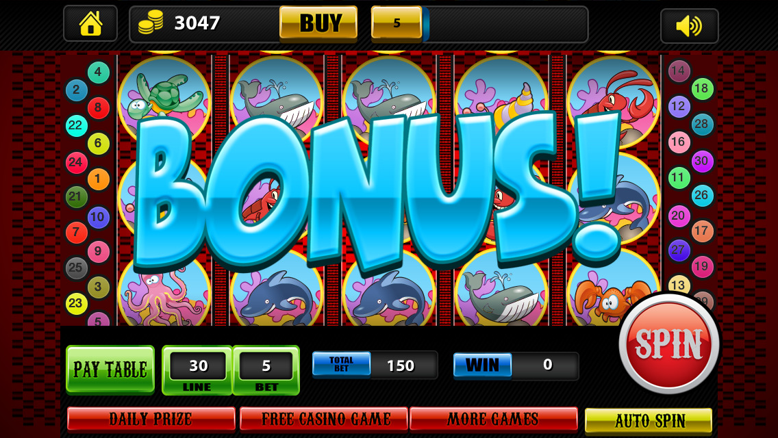 Abe 39 s big gold casino hd multi level classic vegas and for Fish slot game