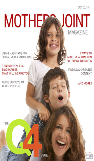Mothers Joint Magazine - featuring inspiring business owners for the Entrepreneur and some light rea