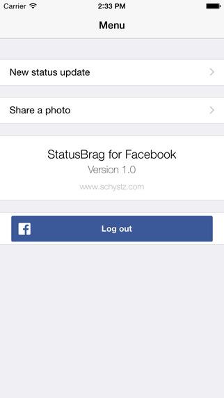 StatusBrag for Facebook