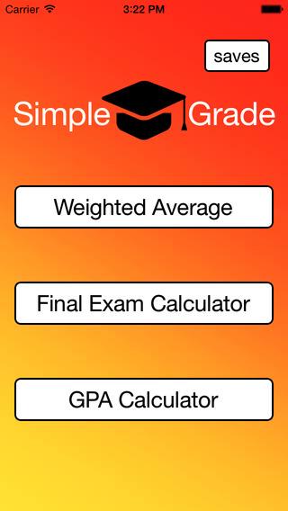 Simple Grade: Grade Calculator