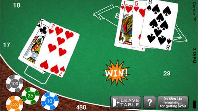 Screenshot 1 AAA Blackjack– Бесплатный игорный симулятор казино Блэкджек 21