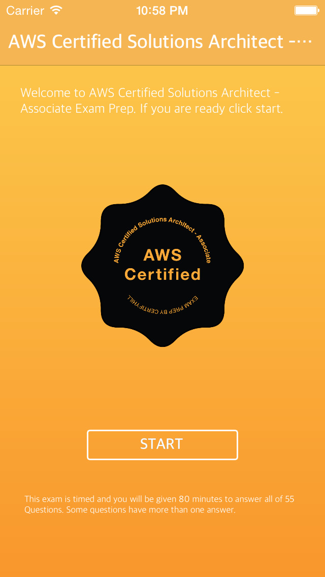 App shopper aws certified solutions architect associate for Certified architect