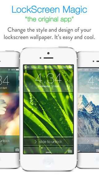 【免費娛樂App】LockScreen Magic : Custom Themes for Lock Screen Background & Wallpapers-APP點子