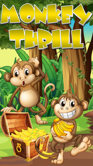 Monkey Thrill - Fun Kids Tap Game FREE