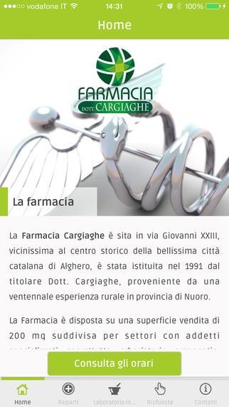 Farmacia Cargiaghe