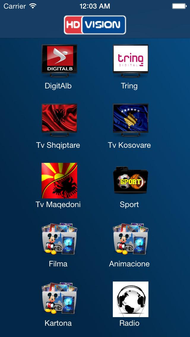 HD VISION AL screenshot 2