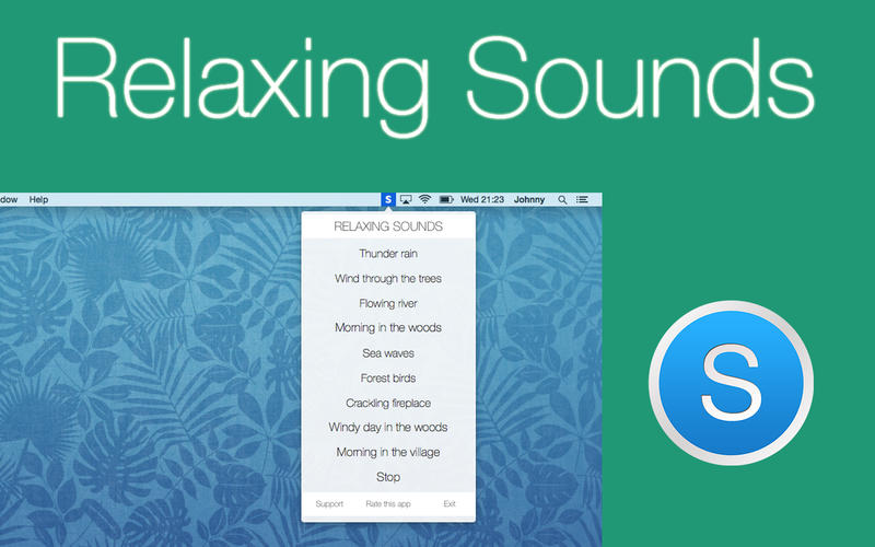 Relaxing Sounds Screenshot - 1
