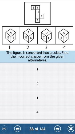 The IQ Test : Free Edition iPhone Screenshot 2