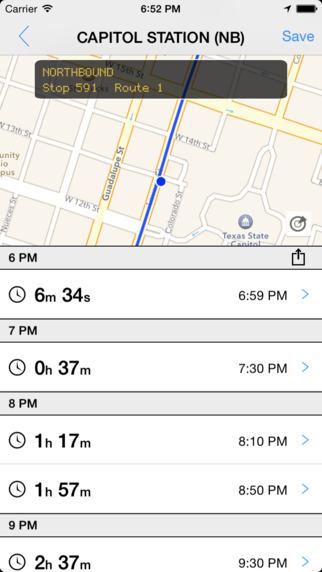 Transit Tracker - Austin CAP