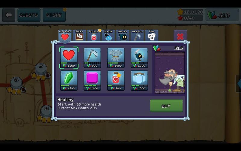 Letter Quest Screenshot - 5