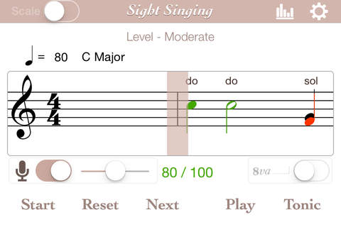 how to sight read singing