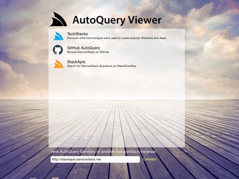 AutoQuery Viewer