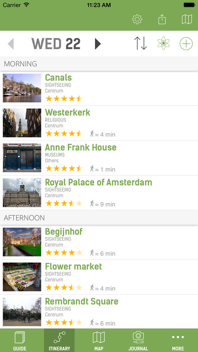 Amsterdam Guide - mTrip iPhone Screenshot 2