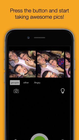 Bestie - Automatic camera and filters for selfies